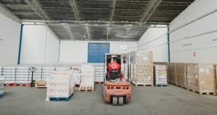 Almacén de alimentos de Cruz Roja en Córdoba. Foto: Antonio Luna (Cruz Roja)