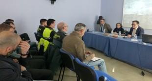 Guardia CiviI y Policía Local de Baena en una imagen de archivo de un curso formativo para mejorar la seguridad. Foto: TV Baena.