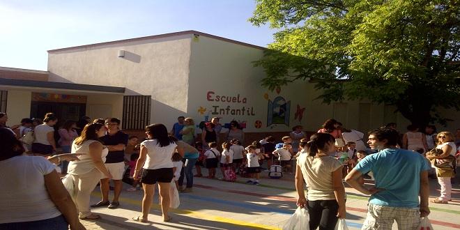 Un centro de Educación Infantil de Baena. Foto de archivo: TV Baena.