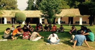 Imagen de archivo de un campamento en el albergue de Cerro Muriano.