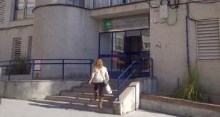 Entrada principal al Centro de Salud 'Dr. Ignacio Osuna Gómez' de Baena. Foto: TV Baena.