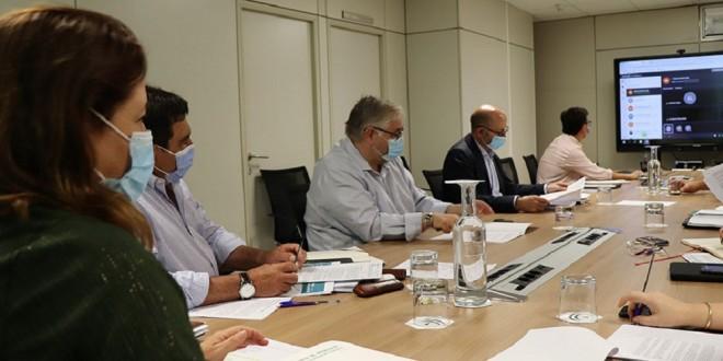 Reunión de la Mesa de Interlocución Agraria Andaluza. Foto: Junta de Andalucía.