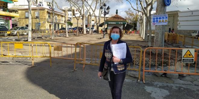 Portavoz movimiento vecinal, Belén de Prado: Foto TV Baena