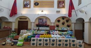 Productos donados por la A.C. 'Amigos de la 4ª Cuadrilla de Judíos de la Cola Negra'.