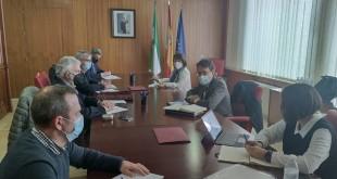 Reunión con las organizaciones agrarias en la Subdelegación del Gobierno en Córdoba.