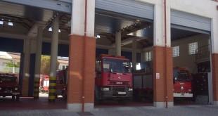Parque Comarcal de bomberos de Baena. Foto: TV Baena.