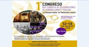 Caminos de Pasion cartel I Congreso europeo Semana Santa marzo2021 (2)