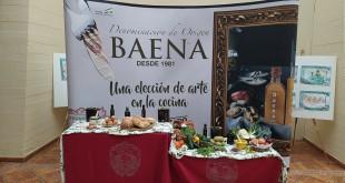 Bodegón con aceite de oliva virgen extra en la sede del Consejo Regulador de la DOP Baena. Foto: TV Baena.