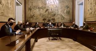 Reunión en el Senado de representantes de la Sectorial Nacional del AOV con Denominación de Origen. Foto: DOP Baena.