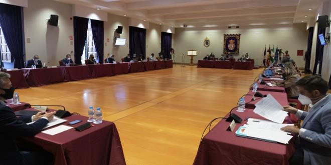 Imagen general del Pleno de la Diputación de Córdoba, celebrado ayer de forma presencial. Foto: Diputación de Córdoba