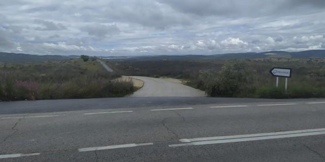 Acceso al Parque Empresarial del Guadajoz ubicado en el polígono industrial 'El Coscujo'. Foto: TV Baena.