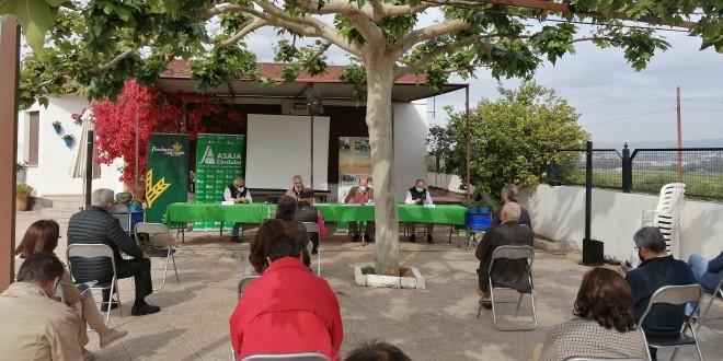 Imagen de la reciente Asamblea anual de Asaja Córdoba. Foto: Asaja Córdoba.