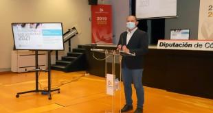 Miguel Ruz, en la presentación del programa 'Fomento del Empleo para Menores de 35 años'.Foto: Diputación de Córdoba.