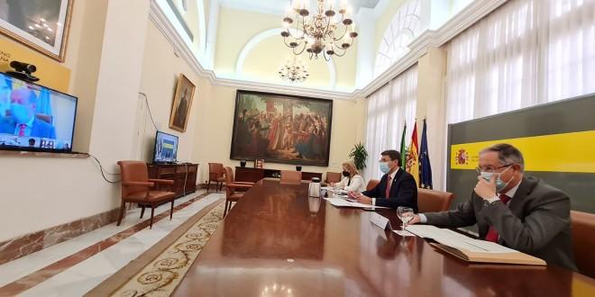 Reunión telemática de la Comisión Regional de Seguimiento del PFEA en Andalucía.
