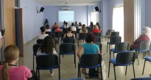 Algunas de las participantes en este taller organizado por el CMIM. Foto: TV Baena.