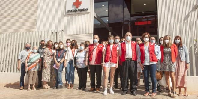 Voluntarios de Cruz Roja Córdoba que integran los equipos de 'Radares de soledad'. Foto: Ángel Luque.