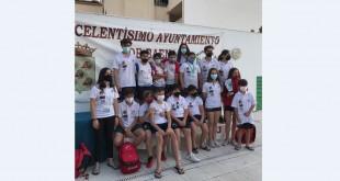Equipo del CN Baena en el XLVI Trofeo 'Melchor Castro Luque'. Foto: CN Baena.