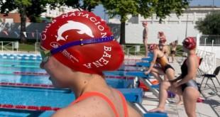 Una nadadora del CN Baena en el reciente Trofeo 'Melchor Castro Luque'. Foto: CN Baena.