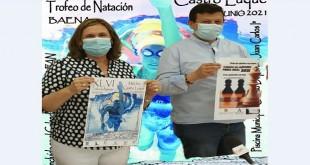 Presentación del XLVI Trofeo de Natación 'Melchor Castro Luque'. Foto: Ayuntamiento de Baena.