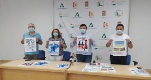 Presentación del Taller de Verano de ajedrez infantil y del Campus de Tecnificación de futbol-7. Foto: TV Baena.