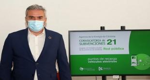 Víctor Montoro, presidente de la Agencia Provincial de la Energía de Córdoba. Foto: Diputación de Córdoba.