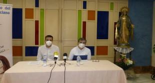 La directora de la Residencia 'Divino Maestro', sor Isabel Jurado, esta mañana en rueda de prensa. Foto: TV Baena.