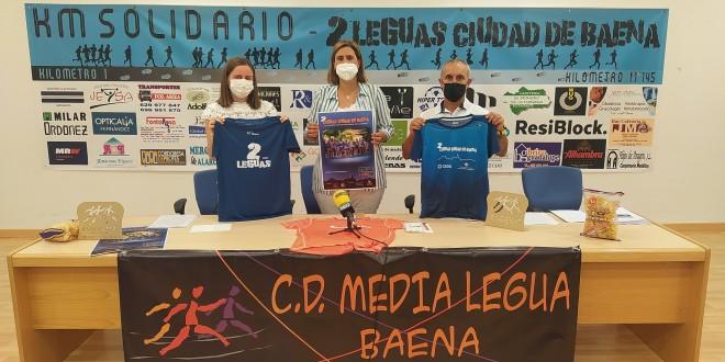 Presentación de la XII Carrera Solidaria '2 Leguas Ciudad de Baena' - XIV Carrera Popular 'Día Mundial del Alzhéimer'. foto: TV Baena.